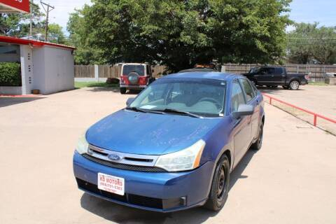2008 Ford Focus for sale at KD Motors in Lubbock TX