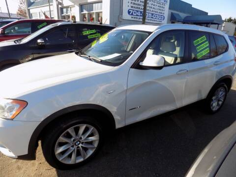 2013 BMW X3 for sale at Pro-Motion Motor Co in Lincolnton NC