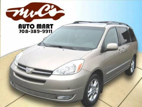 2004 Toyota Sienna for sale at Mr.C's AutoMart in Midlothian IL