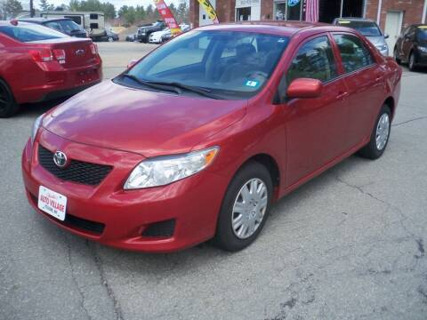 2009 Toyota Corolla for sale at Charlies Auto Village in Pelham NH