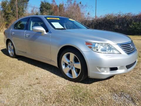 2011 Lexus LS 460 for sale at CAPITOL AUTO SALES LLC in Baton Rouge LA