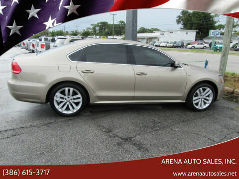 2015 Volkswagen Passat for sale at ARENA AUTO SALES,  INC. in Holly Hill FL