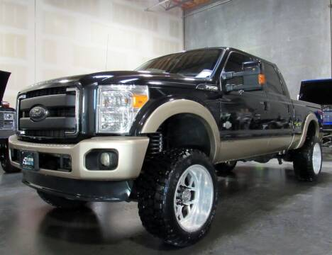 2014 Ford F-250 Super Duty for sale at Platinum Motors in Portland OR