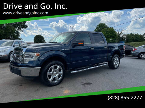 2014 Ford F-150 for sale at Drive and Go, Inc. in Hickory NC
