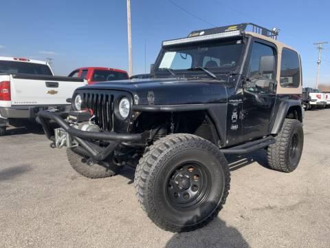1999 Jeep Wrangler for sale at Superior Auto Mall of Chenoa in Chenoa IL