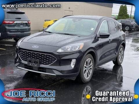 2020 Ford Escape for sale at JOE RICCI AUTOMOTIVE in Clinton Township MI