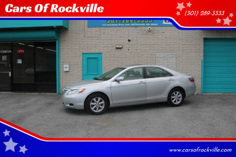 2007 Toyota Camry for sale at Cars Of Rockville in Rockville MD
