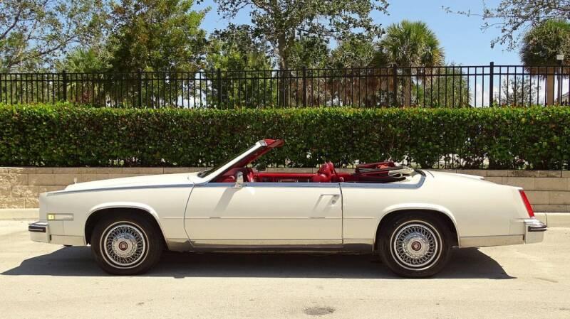 1985 Cadillac Eldorado for sale at Premier Luxury Cars in Oakland Park FL