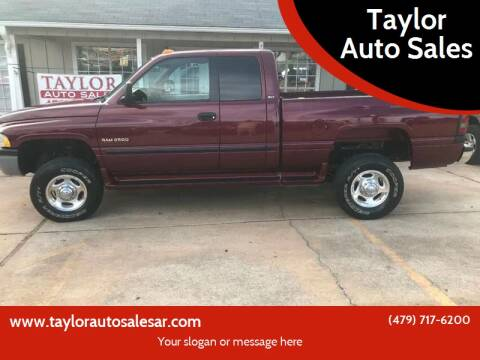 2000 Dodge Ram Pickup 2500 for sale at Taylor Auto Sales in Springdale AR