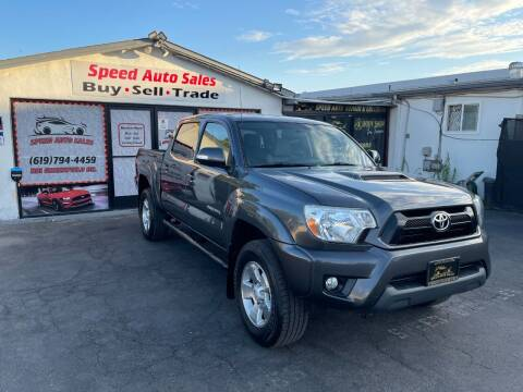 2015 Toyota Tacoma for sale at Speed Auto Sales in El Cajon CA