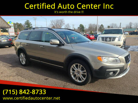 2016 Volvo XC70 for sale at Certified Auto Center Inc in Wausau WI