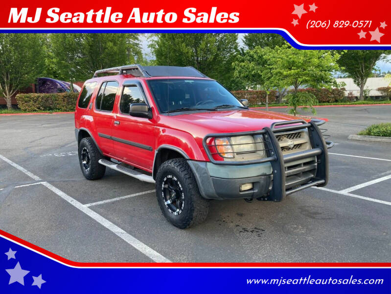 2001 Nissan Xterra for sale at MJ Seattle Auto Sales in Kent WA