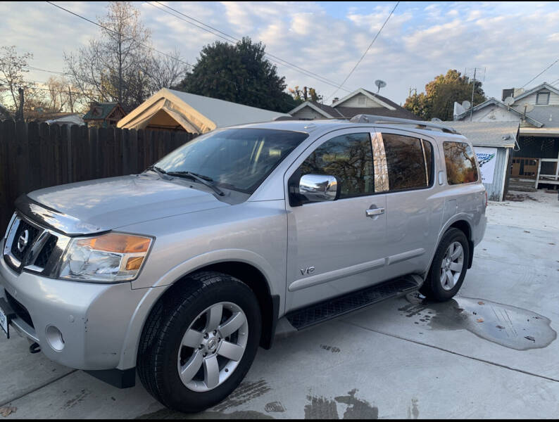 2008 Nissan Armada for sale at Integrity Motorz, LLC in Tracy CA