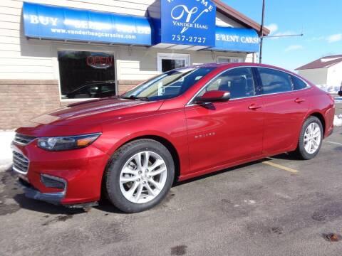 2016 Chevrolet Malibu for sale at VanderHaag Car Sales LLC in Scottville MI