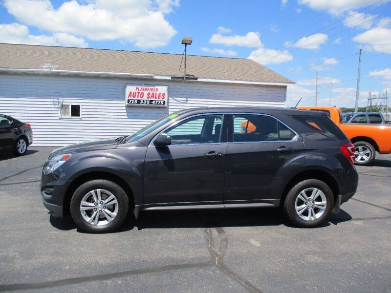 2016 Chevrolet Equinox for sale at Plainfield Auto Sales, LLC in Plainfield WI