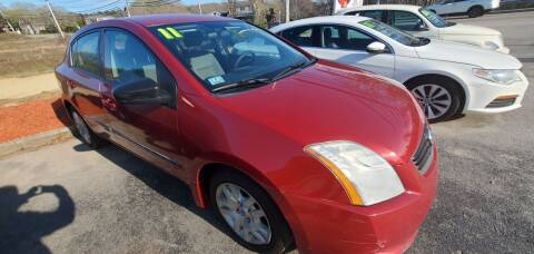 2011 Nissan Sentra for sale at Falmouth Auto Center in East Falmouth MA