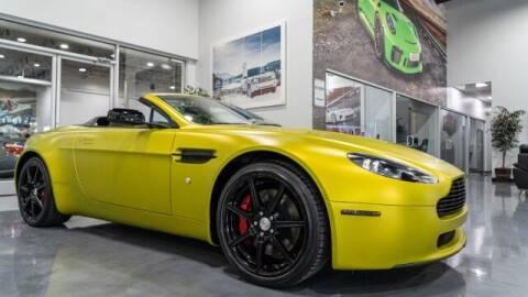 2008 Aston Martin V8 Vantage for sale at Godspeed Motors in Charlotte NC