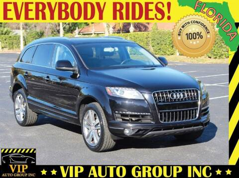 2014 Audi Q7 for sale at VIP Auto Group in Clearwater FL