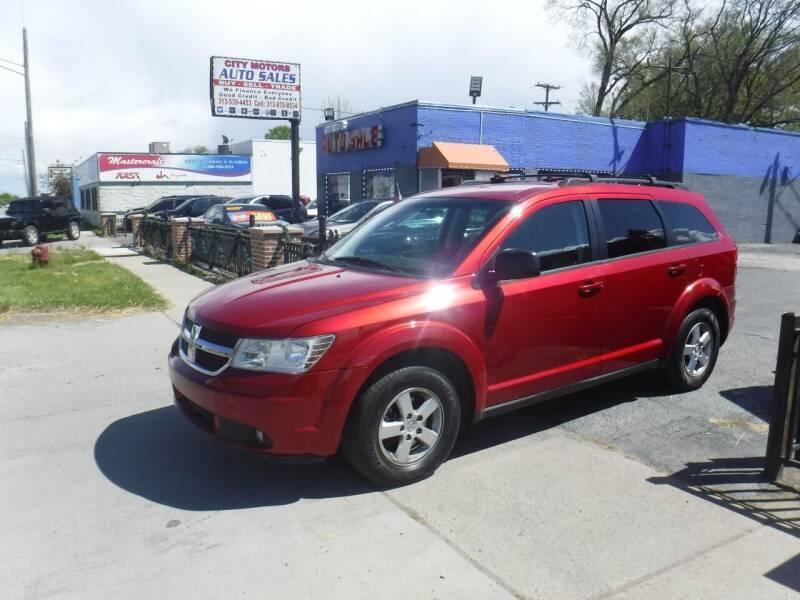 2010 Dodge Journey for sale at City Motors Auto Sale LLC in Redford MI