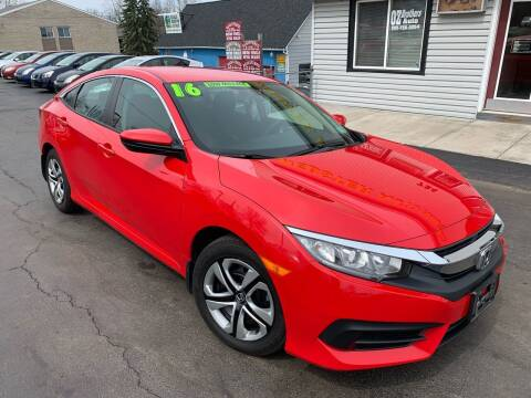 2016 Honda Civic for sale at OZ BROTHERS AUTO in Webster NY