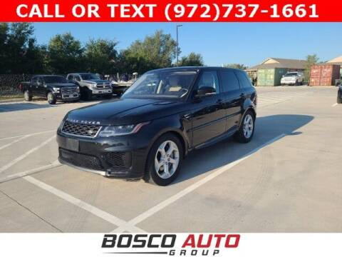 2019 Land Rover Range Rover Sport for sale at Bosco Auto Group in Flower Mound TX