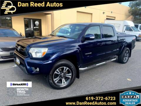 2013 Toyota Tacoma for sale at Dan Reed Autos in Escondido CA