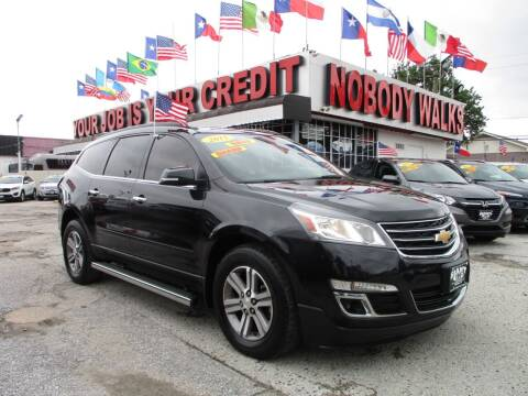 2015 Chevrolet Traverse for sale at Giant Auto Mart 2 in Houston TX