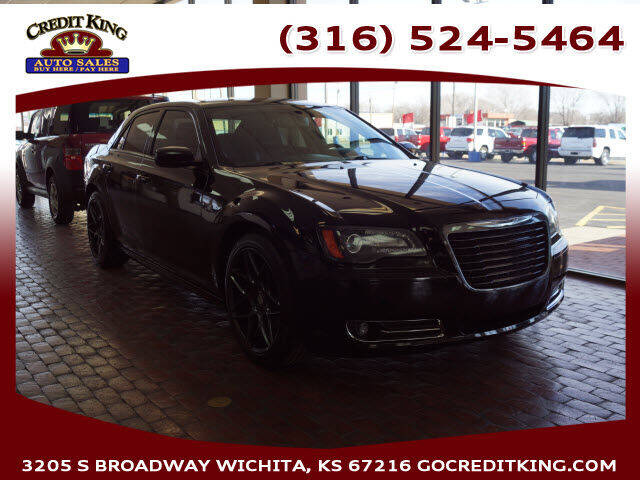 2014 Chrysler 300 for sale at Credit King Auto Sales in Wichita KS