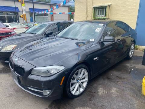2012 BMW 5 Series for sale at Polonia Auto Sales and Service in Hyde Park MA