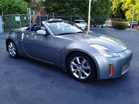 2004 Nissan 350Z for sale at Legacy Auto Sales LLC in Seattle WA
