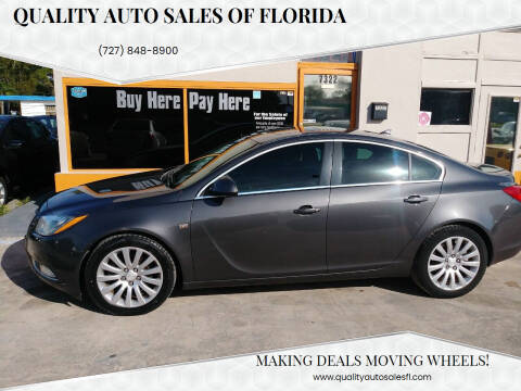 2011 Buick Regal for sale at QUALITY AUTO SALES OF FLORIDA in New Port Richey FL