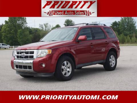 2010 Ford Escape for sale at Priority Auto Sales in Muskegon MI