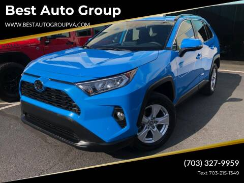2019 Toyota RAV4 for sale at Best Auto Group in Chantilly VA