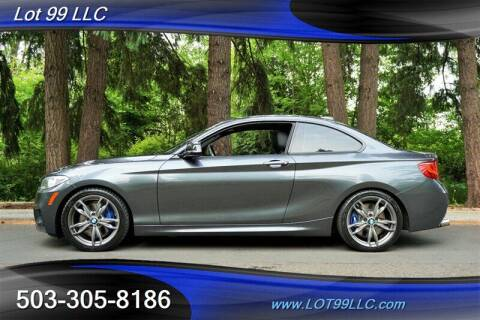 2016 BMW 2 Series for sale at LOT 99 LLC in Milwaukie OR