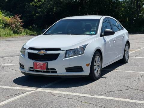 2014 Chevrolet Cruze for sale at Hillcrest Motors in Derry NH