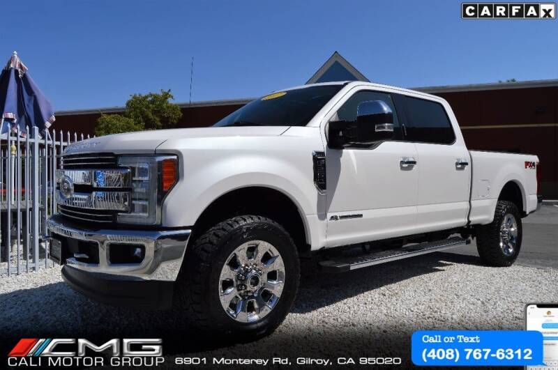 2017 Ford F-250 Super Duty for sale at Cali Motor Group in Gilroy CA