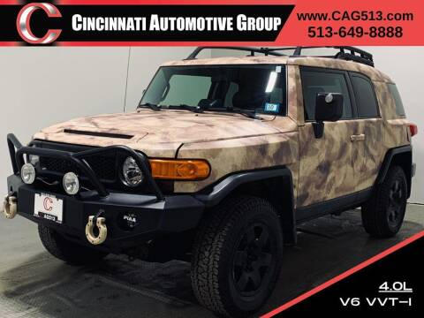 2007 Toyota FJ Cruiser for sale at Cincinnati Automotive Group in Lebanon OH