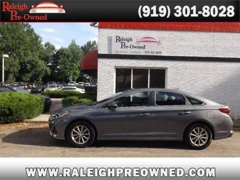 2018 Hyundai Sonata for sale at Raleigh Pre-Owned in Raleigh NC