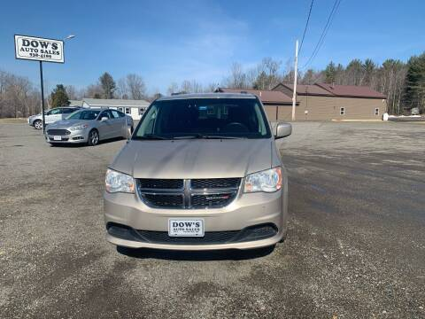 2014 Dodge Grand Caravan for sale at DOW'S AUTO SALES in Palmyra ME
