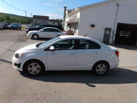 2012 Chevrolet Sonic for sale at ROUTE 119 AUTO SALES & SVC in Homer City PA