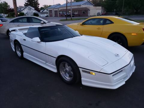 1987 Chevrolet Corvette for sale at Claborn Motors, LLC. in Cambridge City IN