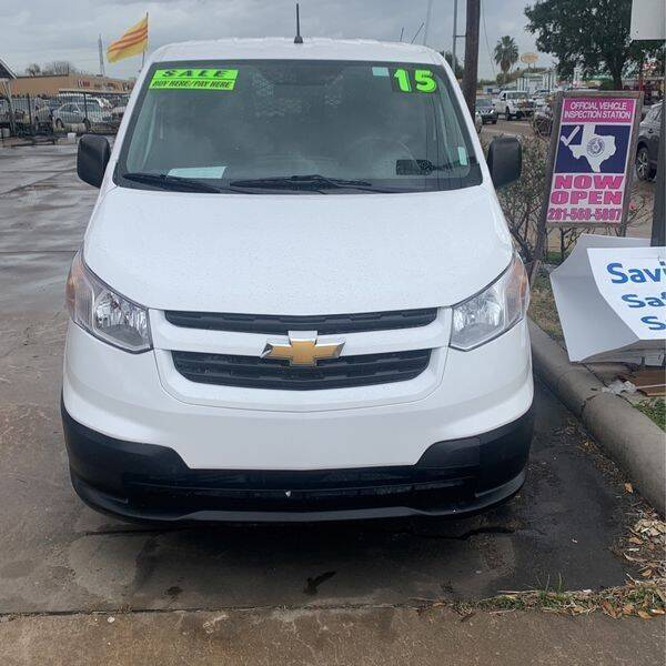 2015 Chevrolet City Express Cargo for sale at Eshaal Cars of Texas in Houston TX