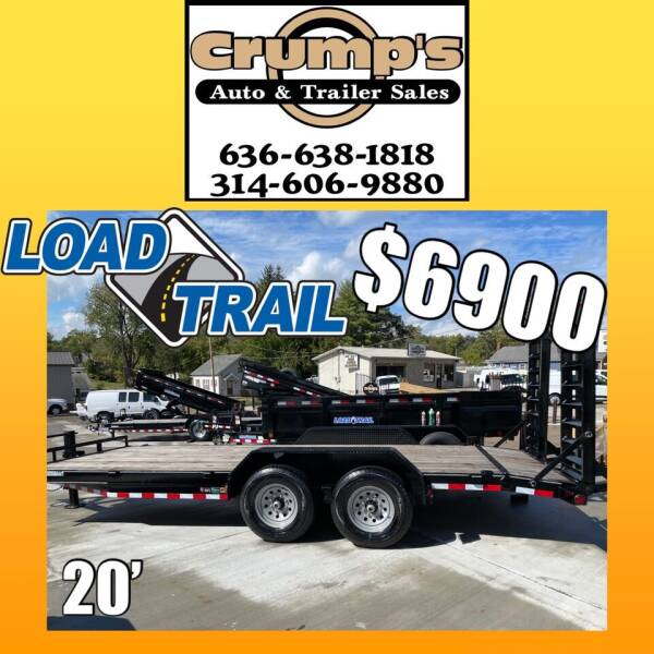 2022 Load Trail 20' Equipment Trailer for sale at CRUMP'S AUTO & TRAILER SALES in Crystal City MO