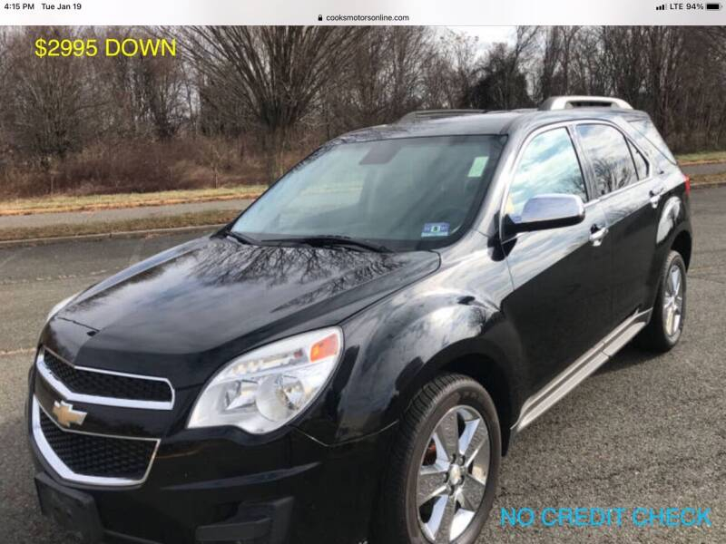 2014 Chevrolet Equinox for sale at Cooks Motors in Westampton NJ