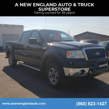 2007 Ford F-150 for sale at A NEW ENGLAND AUTO & TRUCK SUPERSTORE in East Windsor CT