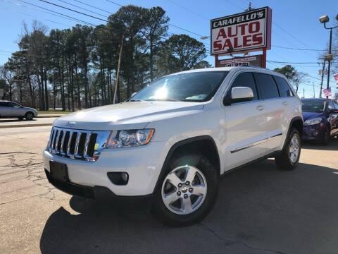 2012 Jeep Grand Cherokee for sale at Carafello's Auto Sales in Norfolk VA