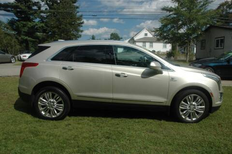 2017 Cadillac XT5 for sale at Bruce H Richardson Auto Sales in Windham NH