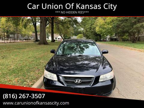 2008 Hyundai Sonata for sale at Car Union Of Kansas City in Kansas City MO