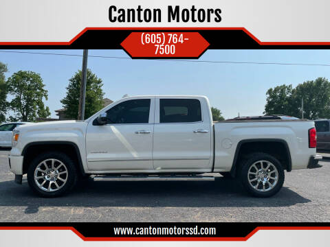 2015 GMC Sierra 1500 for sale at Canton Motors in Canton SD