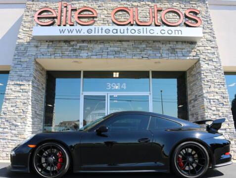 2015 Porsche 911 for sale at Elite Autos LLC in Jonesboro AR